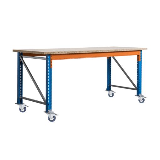 Stow werkbank op wielen met rem 2700 x 950 x 1000 mm