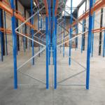 Palletstelling 600 x 270 x 110 cm (hxbxd) 3 niveaus – 2000 kg