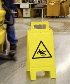 Waarschuwingsbord - gevaar voor uitglijden
