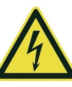Waarschuwingsbord - Elektrische spanning