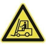 Waarschuwingsbord - gevaar voor heftruck