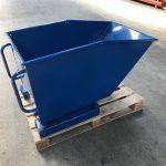 Kiepcontainer - blauw