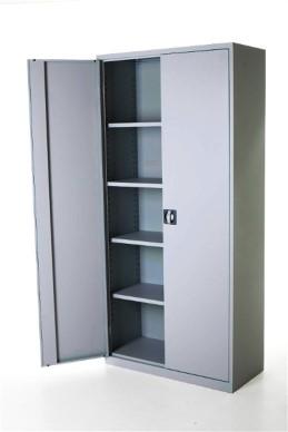 Draaideurkast aluminium 195x92x42 cm 2
