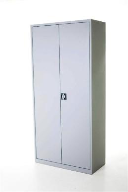 Draaideurkast aluminium 195x92x42 cm