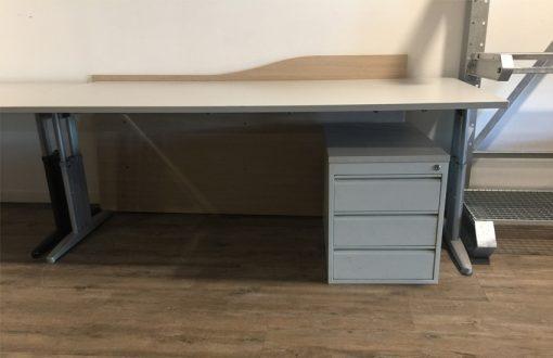 Bureau met ladeblok 200x100x75