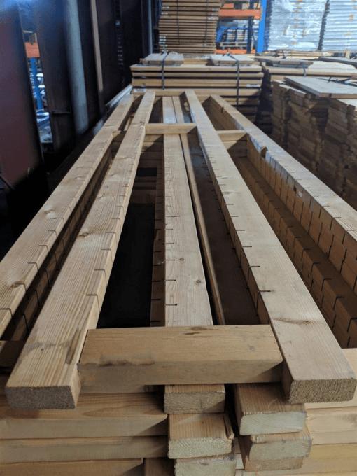 Bruynzeel houten legbordstelling