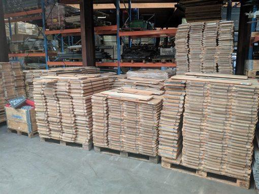 Bruynzeel houten legbordstelling gebruikt