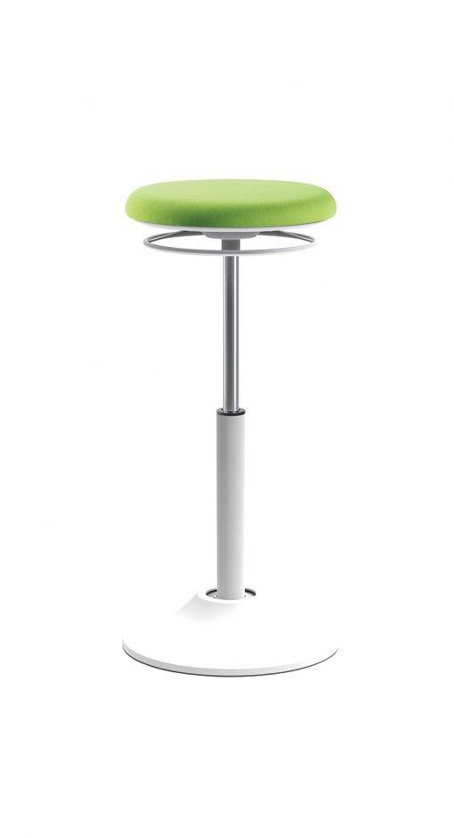 123 Zit-sta kruk Groen