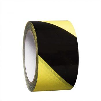 Proline waarschuwingstape vinyl 75 mm