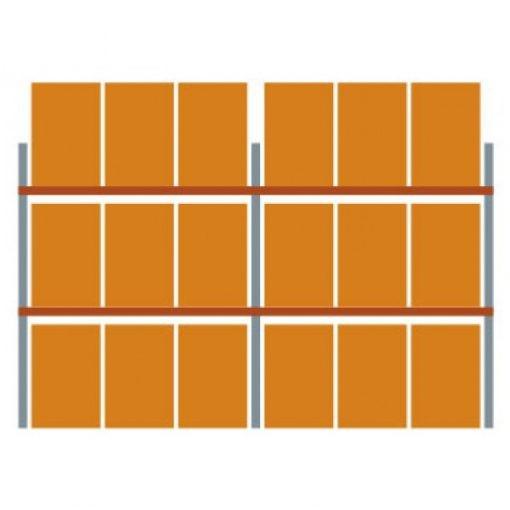 META Multipal palletstelling 270 x 565.5 x 110 cm (hxbxd)