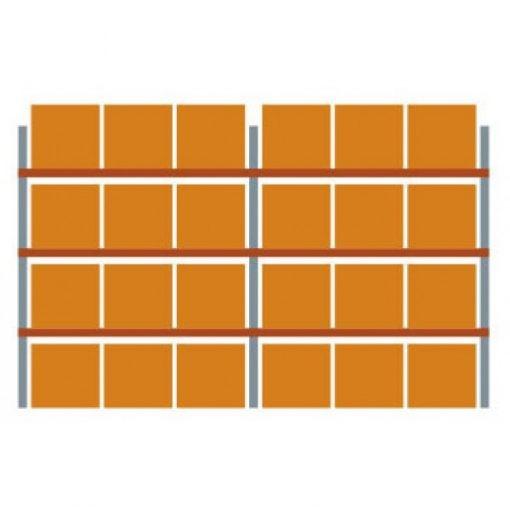 META Multipal palletstelling 330 x 565.5 x 110 cm (hxbxd)
