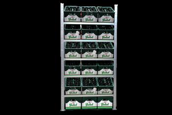Meta Krattenstelling Basisectie 200 x 100 x 40 cm (hxbxd)