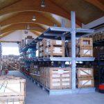 Zware draagarmstelling enkelzijdig – 420 x 390 x 150 cm (hxbxd) – 950 KG