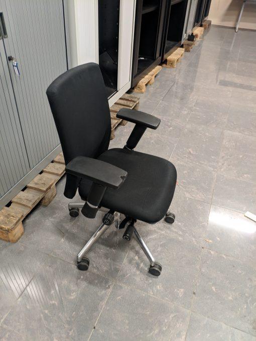 Gebruikte bureaustoel zwart