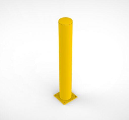 Rampaal aanrijdbeveiliging 103.5 cm - staal
