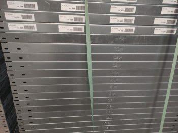 META legbord verzinkt 100 x 50 cm (bxd) - gebruikt